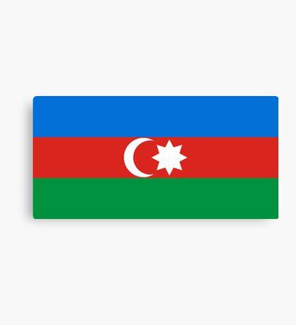 Azerbaijan, national id Canvas Print