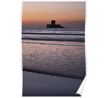 Rocco Tower Sunset 1 Poster