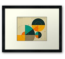PYTHAGOREAN TRIAD Framed Print