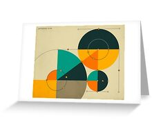 PYTHAGOREAN TRIAD Greeting Card