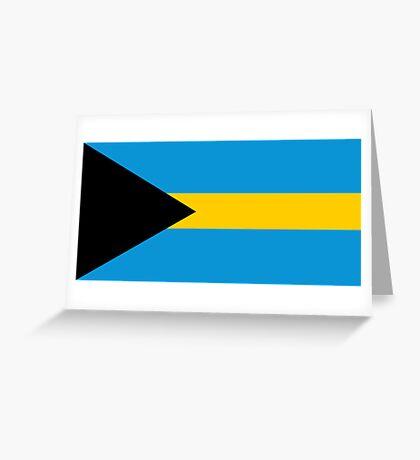 Bahamas, national id Greeting Card