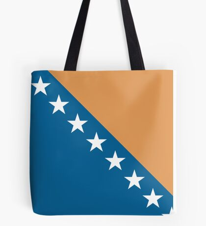 Bosnia & Herzegovina, national id Tote Bag