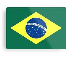 Brazil, national id Metal Print