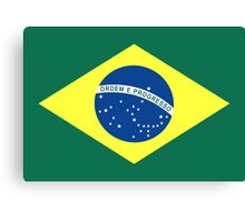 Brazil, national id Canvas Print