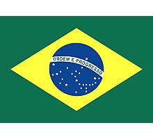 Brazil, national id Photographic Print