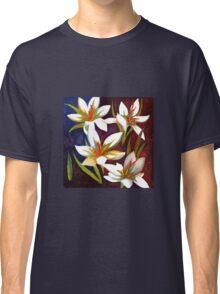 White flowers Classic T-Shirt
