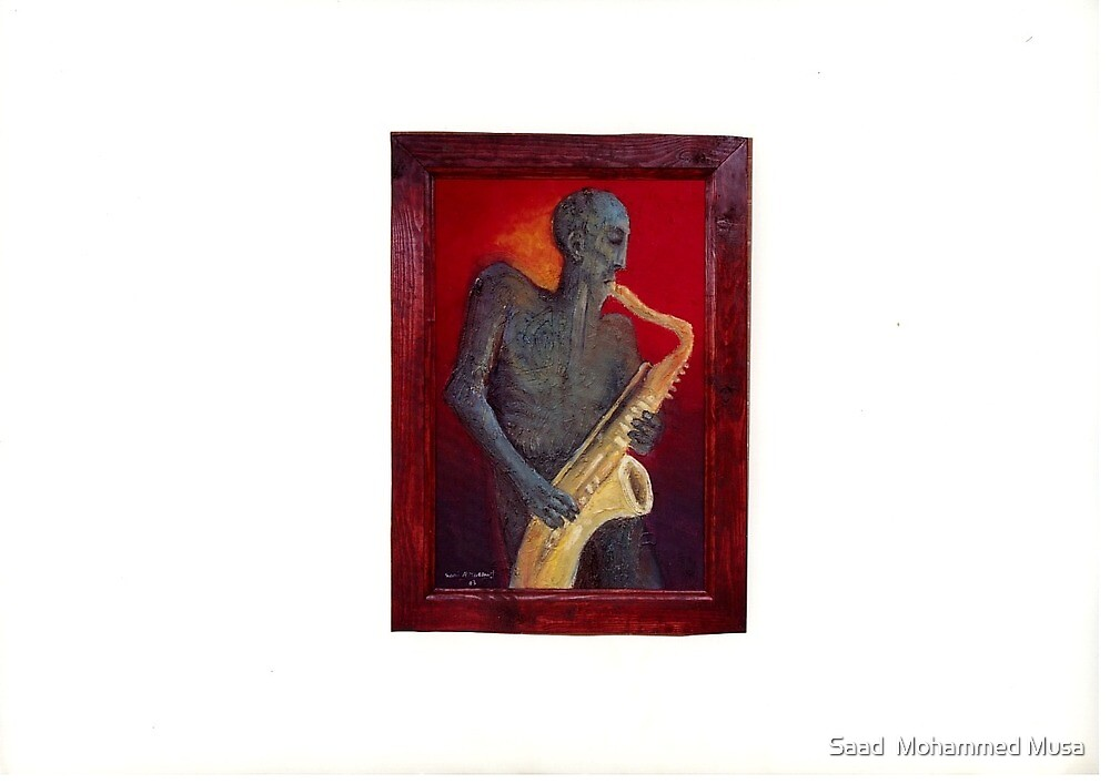 Saxophone Player by Saad  Mohammed Musa