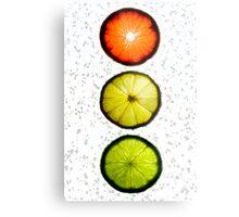 Citrus Light Metal Print