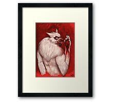 Werwolf Havara / Tasting Prey Framed Print