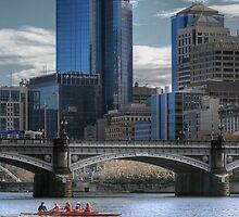 Tram on a Bridge... by GerryMac