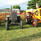 OLD TRACTER'S by Debra Willis