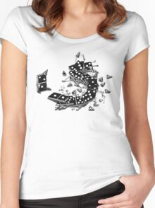 Domino Drunks Women's Fitted Scoop T-Shirt
