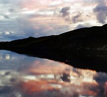 Mirrored Sunset by Theresa Elvin