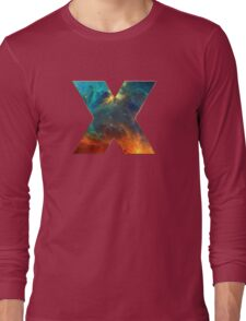 X, Space, Universe, Galaxy, Cosmos Long Sleeve T-Shirt