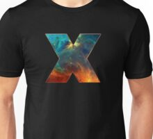 X, Space, Universe, Galaxy, Cosmos Unisex T-Shirt