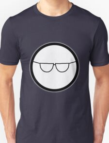 Cartoon Face 1 - Bloke with specs [Big] T-Shirt