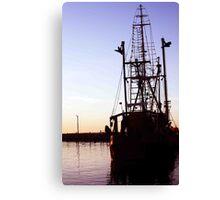 Dockside Trawler Canvas Print
