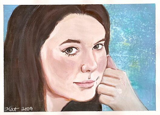 Portrait of Caitlin by Katlandia