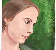 Portrait of Kerri by Katlandia