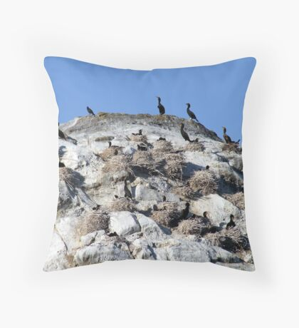 Our Nest,Our Rock,Our Home Throw Pillow