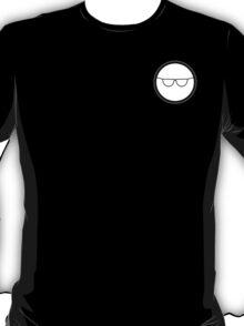Cartoon Face 1 - Bloke with specs [Small] T-Shirt