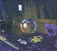 Mystic still life by Pauline Sharp