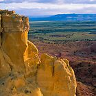 Chimney Rock at Ghost Ranch (Medium Format Film Version) by Mitchell Tillison