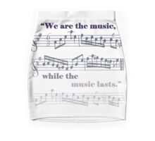 While the music lasts Mini Skirt