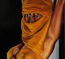 yellow ties that bind by rogerpaints