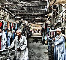 Esna Street Bazaar by Roddy Atkinson