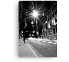 Cleveland Streets Canvas Print