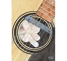 Guitar Possessed Photographic Print