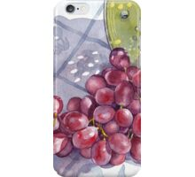 Red Grapes iPhone Case/Skin