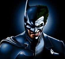 "BATMAN ""THE DARK JOKE"" by MIAMIKAOS"