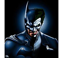 "BATMAN ""THE DARK JOKE"" Photographic Print"