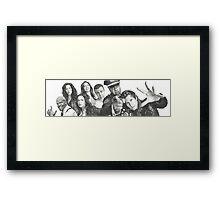 Brooklyn Nine-Nine Framed Print