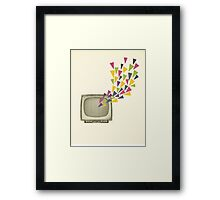 Transmission Framed Print