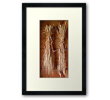 Bringin' In The Sheaves Framed Print