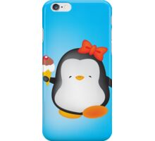 Ice cream penguin iPhone Case/Skin
