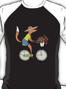 fox on a bike T-Shirt