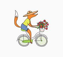 fox on a bike Unisex T-Shirt