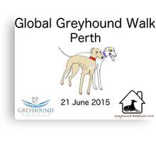 Global Greyhound Walk, Perth Canvas Print