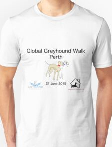Global Greyhound Walk, Perth T-Shirt