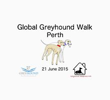Global Greyhound Walk, Perth Unisex T-Shirt