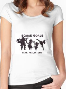 Final Fantasy Party Women's Fitted Scoop T-Shirt