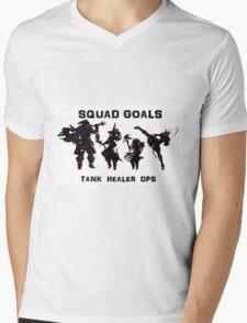 Final Fantasy Party Mens V-Neck T-Shirt