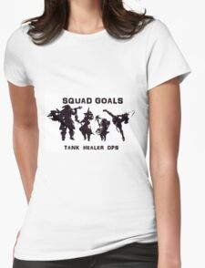 Final Fantasy Party Womens Fitted T-Shirt