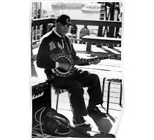 Banjo Jazz Poster