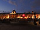 Trafalgar Square and National Gallery by Themis