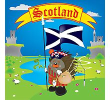 Greetings from Scotland Photographic Print